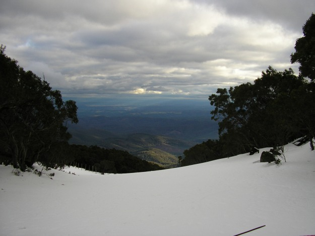 Mt Baw Baw, Narracan, Baw Baw Shire, Snow, green scape, Simon Chapman Mt Baw Baw  A view from Mount Baw Baw near Melbourne Australia